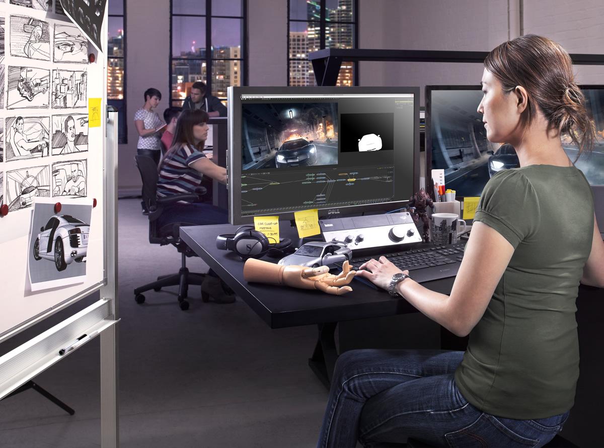 Fusion VFX software from Blackmagic FREE - Informacije o